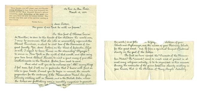Inchelin letter before