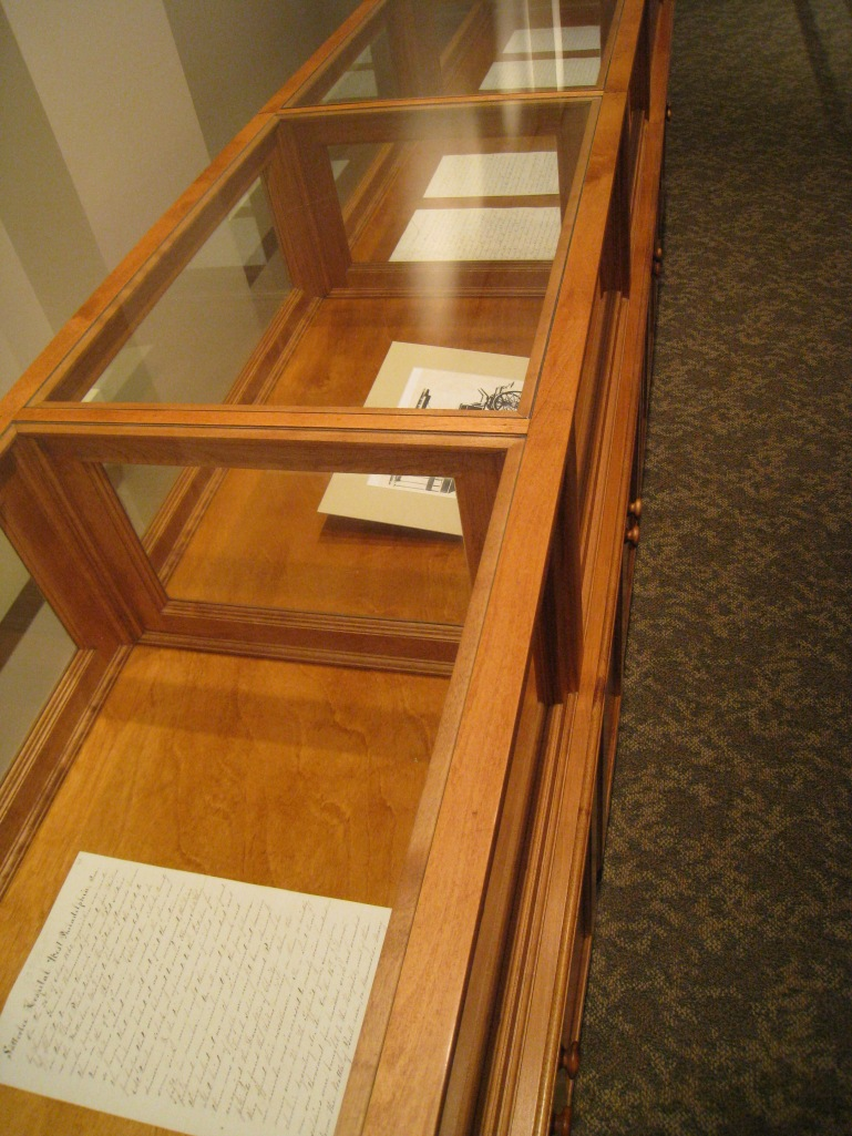 Manuscripts showing the history of Satterlee Military Hospital and the journey to  Gettysburg.