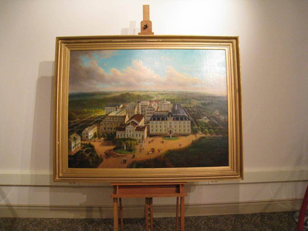 Enke painting St. Joseph's Academy 1873