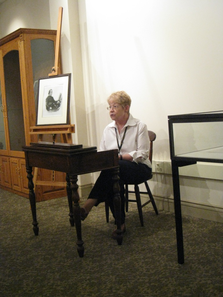 Denise Gallo reading from Sister Matilda Coskery