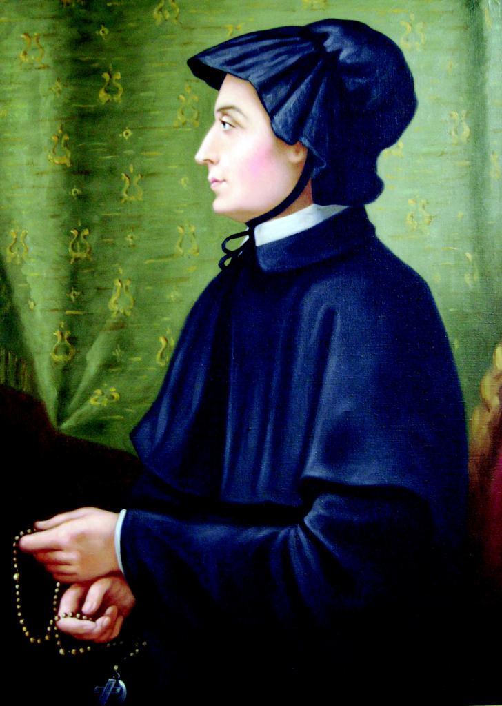 Filicchi portrait of Elizabeth Ann Seton