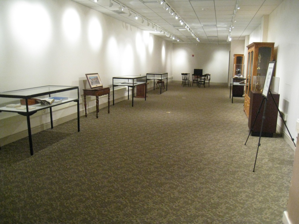 Vincent exhibit, overview