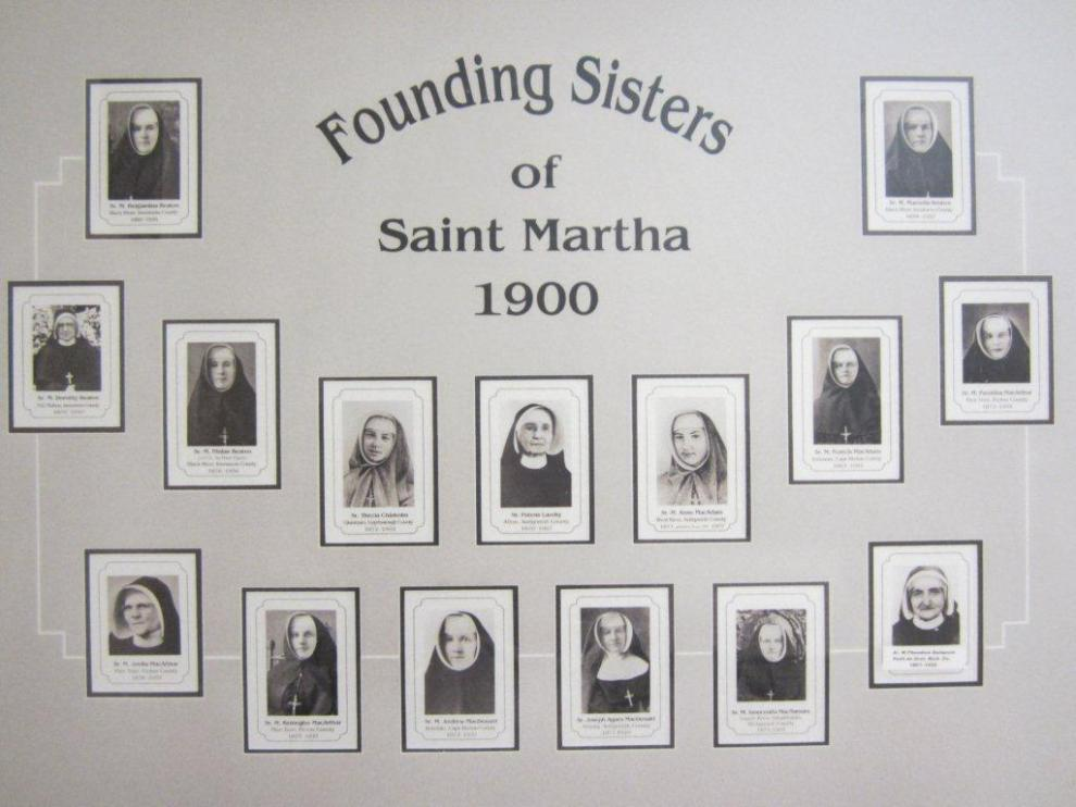 Sisters of St. Martha, founders.