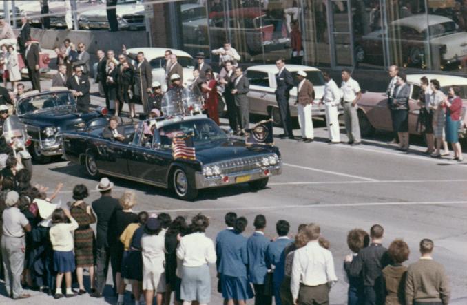 Kennedy motorcade