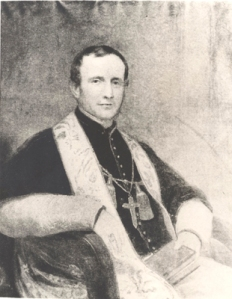 Bishop John Hughes portrait
