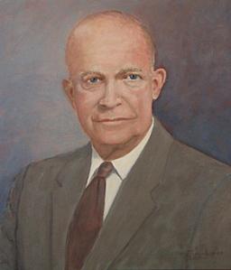 Eisenhower self portrait