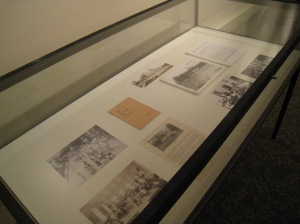 Exhibit case - St. Vincent Orphan Asylum Drexel Hill