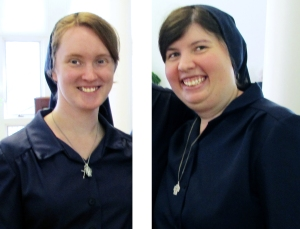 Sisters Whitney Kimmett and Amanda Kern
