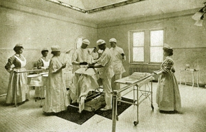 St. Joseph Hospital operating room 1900