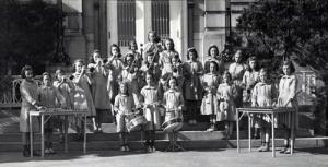 Girls' band from St. Vincent Orphan Asylum Drexel Hill