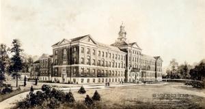 St. Vincent Orphan Asylum building, early 1920s