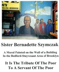 Sister Bernadette Szymczak mural