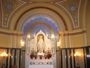 Miraculous Medal Shrine in Perryville, MO