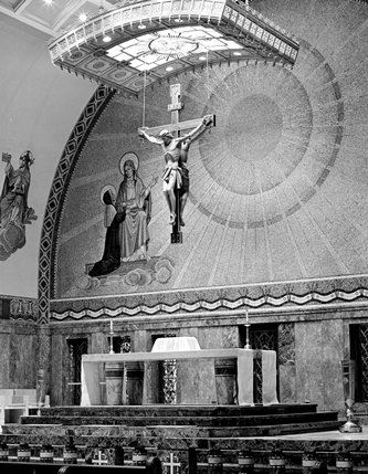 Crucifix with double corpus