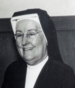Sister Eleanor McNabb, Emmitsburg Province Visitatrix in 1964, oversaw the move into the new Provincial House.