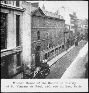 Daughters of Charity Mother House in Paris