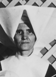 Sister DeSales Loftus, who cared for Holden prior to his death (used with permission of Daughters of Charity Provincial Archives)