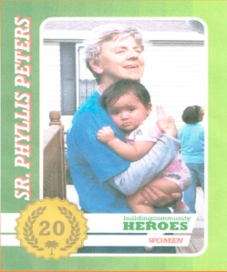 Sister Phylis Peters, founder and director of Proyecto Juan Diego (image courtesy of Proyecto Juan Diego)