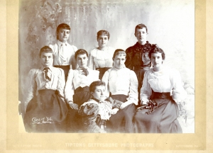St. Joseph's Academy, Emmitsburg, MD, class of 1894 (Photo by William H. Tipton)