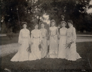 St. Joseph's Academy, Emmitsburg, MD, class of 1903 (Photo by William H. Tipton)