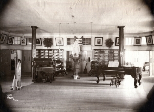 Music room at St. Joseph's Academy, Emmitsburg, MD (Photo by William H. Tipton)