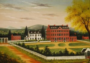 Edward Augustus Seton, View of St. Joseph's Academy, 1825. Oil on canvas. Used with permission of the Provincial Archives