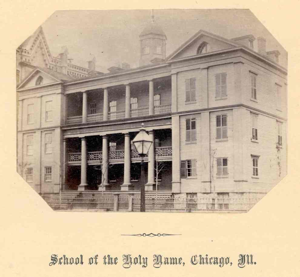 School of the Holy Name -1861 - 1871, Chicago, IL